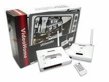 iAVsender iPod to TV 2.4GHz Wireless Audio/Video Docking Station with Remote NEW