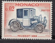 TIMBRE MONACO NEUF N° 558 ** VOITURE PEUGEOT 1898