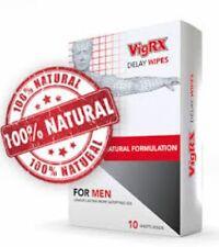 VigRX Delay Wipes Male Enhancement Desensitizer. Get it FAST!