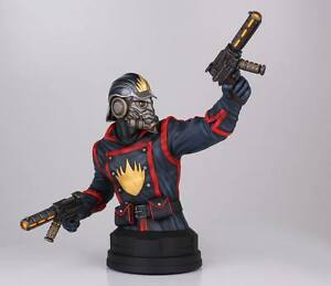 Gentle Giant Star-Lord Mini Bust 407/714 Guardians of the Galaxy Marvel SEALED