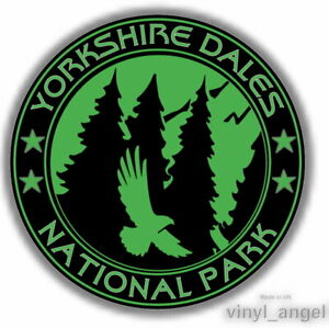 2x YORKSHIRE DALES NATIONAL PARK Car Waterproof Vinyl Sticker #2375