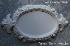 Plaster Plaque Acanthus Traditional 366mm x 190mm