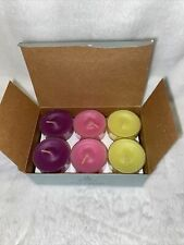 Partylite Tealight Candles. Sugared Fruits 1 Dozen