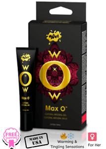Wow Max O Clitoral Arousal Gel .05oz - Female Enhancement Enhancer