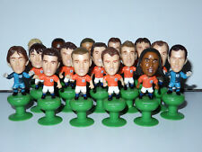 FIFA WORLD CUP DUTCH TEAM PVC TOY FIGURE PLAYERS (16X) 2006 SUPER DE BOER PROMO
