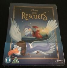Disney THE RESCUERS Blu-Ray SteelBook UK Exclusive Region Free Sold Out New Rare