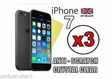 """3x HQ ULTRA CLEAR HD SCREEN PROTECTOR COVER GUARD FILM FOR APPLE IPHONE 7 4.7"""""""