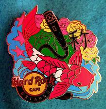 ORLANDO *KOI FISH* *FAME* MICROPHONE SERIES Hard Rock Cafe PIN LE