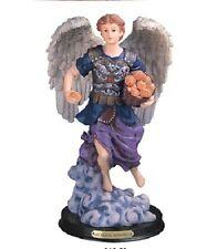 "12"" Inch Barachiel Statue Figurine Figure Religious San Saint Angel"