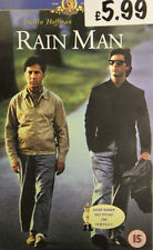 Rain Man VHS Dustin Hoffman & Tom Cruise Story of Charlie & his autistic brother