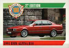 1991 BMW Alpina B10, Germany, Dream Cars Trading Card, Automobile - Not Postcard