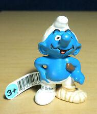 Smurfs Movie Stunt Man Smurf Vintage Film Set Figure 2008 Schleich PVC Toy 20709