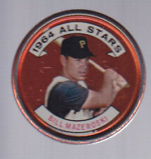 1964 Topps Coin #143 Bill Mazeroski Pirates EX-MT
