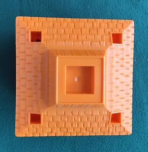 Fisher Price ZOO Little People PART Aviary building Orange vintage 1984 #916