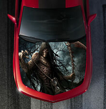 H16 GRIM REAPER Hood Wrap Wraps Decal Sticker Tint Vinyl Image Graphic
