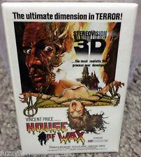 "House of Wax Movie Poster 2"" x 3"" Refrigerator Locker MAGNET Price Bronson"