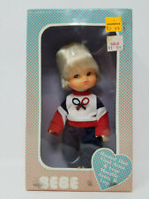 Vintage Bebe Rooted Hair Tennis Player Outfit Doll Made In Hong Kong New In Box