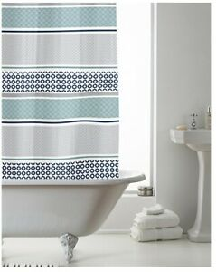 Shower Curtain- Waterproof- With Rings 180x180cm (approx)- PEVA- Multi Pattern