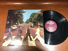 The Beatles - Abbey Road - Purple Label VG+ Vinyl LP Record