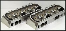 BIG BLOCK BBC CHEVY 454 496 300cc OVAL PORT ALUMINUM HEADS BARE SET.