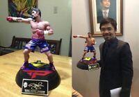Manny Pacman Pacquiao 1/6 Custom Statue Super Detailed L@@k! Facsimile autograph