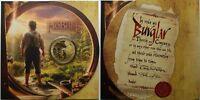New Zealand Hobbit  -2012 - UNC $1 BU Coin -  Bilbo Baggins Hobbit