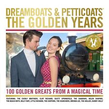 Dreamboats and Petticoats: The Golden Years - Various Artists (Box Set) [CD]