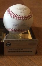 ROBINSON CANO 1st HR @ NEW YANKEE STADIUM Autographed Baseball MLB STEINER  LE