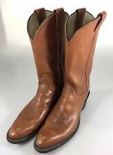 Olathe 11AAA Mens Classic Cowboy Boots Brown Leather Tall 5090