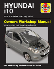 HAYNES REPAIR SERVICE MANUAL 6414 HYUNDAI i10 2008 TO 2013 (58 - 63 REG) PETROL
