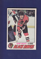 Grant Mulvey 1977-78 O-PEE-CHEE OPC Hockey #101 (EXMT+) Chicago Blackhawks