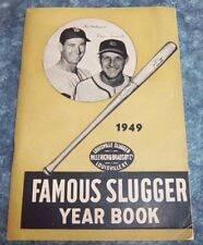 Famous Slugger yearbook 1949 Ted Williams / Stan Musial  front cover
