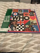 THE WHO-1921 SERIES- LIMITED EDITION 2LP- NEW/SEALED- HMV EXCLUSIVE-NUMBERED