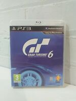 GRAN TURISMO 6 - PS3 PLAYSTATION 3 GAME COMPLETE VGC