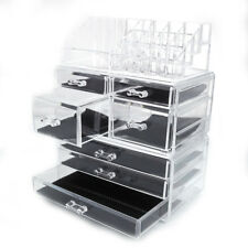 Large Cosmetic Makeup Case Lipstick Jewelry Holder Storage Organizer w/7 Drawer