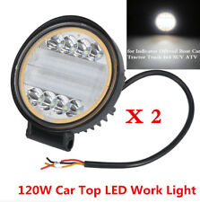 120W 9600LM LED Work Light Flood Beam Driving Fog Lamp DRL Car Tractor Truck 4x4