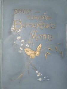 Macrolepidoptera Kappel /Kirby - British and european Butterflies and Moths 1895