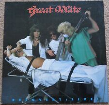 Great White - Recovery Live! 1988 UK vinyl LP