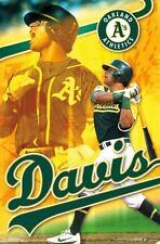 Khris Davis GOLDEN BOMBER Oakland A's Athletics MLB Baseball Wall POSTER