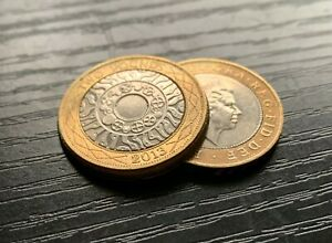 Two Pound Expanded Shell Coin / MADE FROM REAL COINS! £2 CLOSE UP MAGIC TRICK!