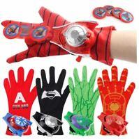 Spider man launcher 5 Styles PVC 24cm  Glove Action Figure Batman Hulk kids toys