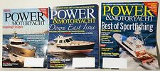 Power And Motoryacht ~ 3 Issues ~ April ~ May ~ June 2014