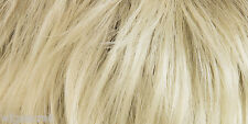 Medium Monofilament Skin Top Wavy Straight Blonde Brunette Red Grey Wigs