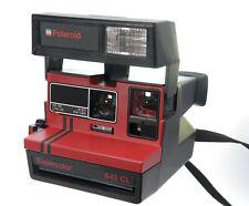 Polaroid supercolor 645 CL schwarz / rot für Film Typ 600 geprüft