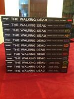 The Walking Dead Books # 1-12 Hardcover Black & White Graphic Novels Kirkman