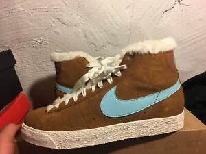 Nike Blazer Boot (GS) Still Blue Sail 407898-201,US 6.5 Youth