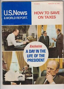 U.S. News Mag Henry Ford Day In The Life February 24, 1975 112019nonr