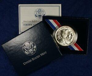 2001-D $1 UNC Buffalo Commemorative Silver Dollar Coin