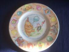 "Royal Doulton Winnie The Poo Compleanno 8"" PIASTRA (LIEVI GRAFFI)"
