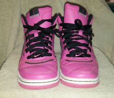 Womens pink Nike high tops size 9